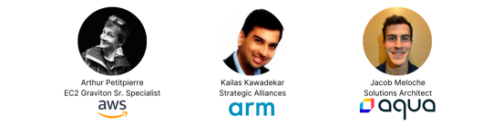 AWS ARM Webinar Speakers