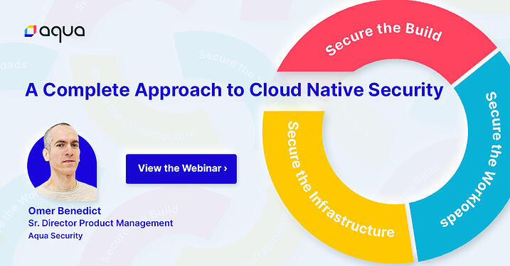 Cloud Native Approach - Webinar Image