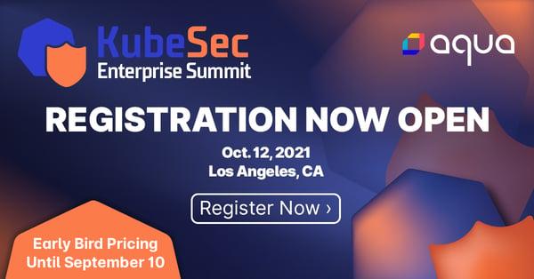 KubeSec Registration Now Open