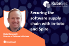 Securing the software supply chain